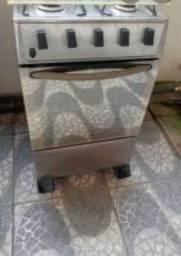FOGÃO  INOX ESPELHADO $300