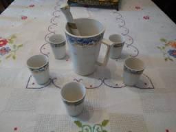 Coqueteleira, Porcelana - Antiguidade