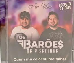 CD,BARÕES DA PISADINHA, AO VIVO