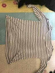 Blusa luigi Bertolli tamanho P.