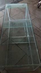 Vendo aquario top 200litros aceito propostas completo ou so o vidro