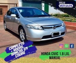 Honda Civic 1.8 LXL Manual com bancos em couro