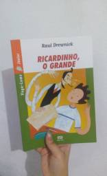Livro novo Ricardinho, o Grande