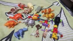 Coleção brinquedos da Recreio de animais pré históricos
