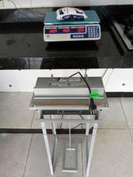 Balança digital e seladora de embalagens 550 reais