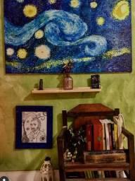 Releitura tela noite estrelada, Van Gogh