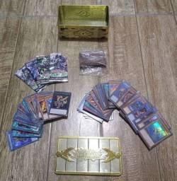 Deck Salamagrande Completo + Caixa do Yu-Gi-Oh! Personalizada
