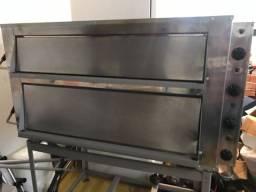 Forno elétrico industrial pouco usado