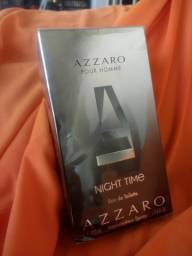 Vendo perfume masculino importado Azzaro night time novo lacrado 100 ml