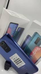 Xiaomi Redmi Note 9 Dual SIM 128GB 6.53? 48+8+2+2MP/13MP OS 10 - Cinza Stellar<br><br>