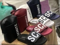 Kit sandalia + bolsa schutz