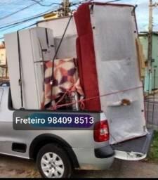 Faz transporte cama geladeira sofa fogão mesa armario