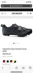 Sapatilha Specialized MTB n40 (com tacos)