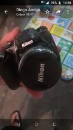 Nikon P520, semi nova em ótimo estado
