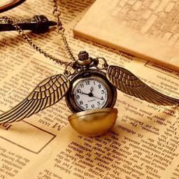 Relógio Harry potter cordão colar