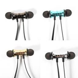 Headphone XT-11 Sem Fio Bluetooth 4.1 de Sucção Magnética com Microfone