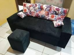 Sofa 3 lugares novo
