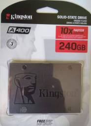 SSD Kingston A400 240GB - Novo, lacrado, com Garantia - PROMOÇÃO.
