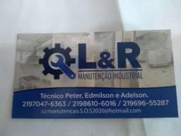 Manutenção de equipamentos industrial!