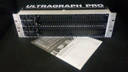 Equalizador Behringer Ultragraph Pro FBQ6200 127v Pouco uso