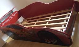 Cama Infantil dos Carros MCQueen