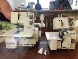 Máquina de costura OVERLOQUE e GALONEIRA