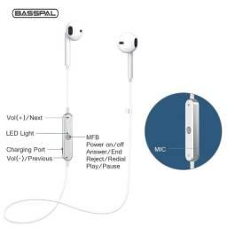 Fone de Ouvido Basspal sem Fio Bluetooth Esportivo Intra-auricular Estéreo