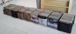 Discos de vinil, mais de 1200 lps, preço 3 por 10,00