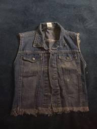 Jaqueta jeans semi-novo