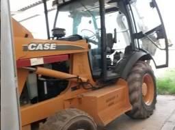 Retro Escavadeira 4x4 Case 580 M Ano 2013/13 Cabinada!!
