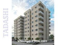HP Residencial Aurora Jardim no Centro de Paulista, apartamento de 2 quartos com varanda