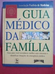 """Livro usado """"Guia médico da família"""""""