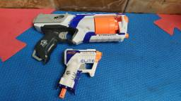 Par de pistolas Nerf strongarm + triad ex-3
