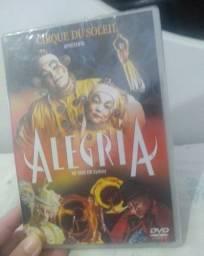 DVD Filme Cirque du Soleil em Sydney - lacrado não aceito troca