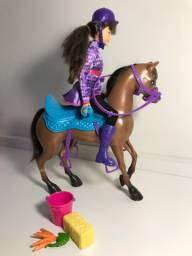 Skipper com cavalo