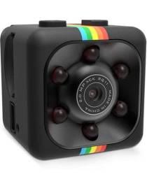 Mini Câmera 720p, Super compacta, Câmera Noturna Infravermelho, Detecção de Monitor