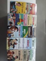 Kit com 19 Livros Coleção  Pintores para Crianças.  livros NOVOS!!!