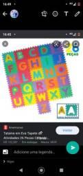 Tatame infantil alfabeto completo