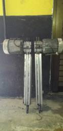 02 Motores Pivotantes - Marca Pecinnin 1/3 HP (usado)