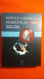 Livro Doença Cardiaca E Reabilitação - 3° Edição Ed Revinter