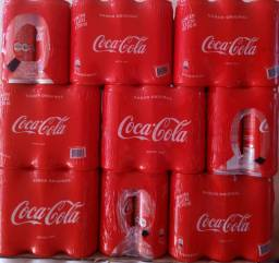 Coca-Cola lata 310 ml e Skol lata 269 ml