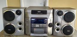 Aparelho de som RCA- 5 DISC CHANGER