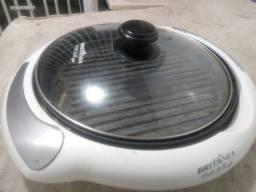 Multi grill Inox Britania 1200W 127V - Usado