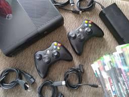 Xbox 360 slim completo desbloqueado