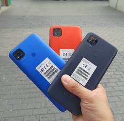 Caixa Lacrada - Xiaomi Redmi 9C - 64GB Rom ou 32GB Rom - Versão Global - Preto
