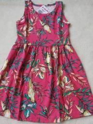 Vestido infantil de 10 ano