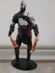 Action Figure- Estátua decorativa em resina- Kratos 20cm God of war 4