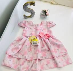 Vestido Rosa - Novo