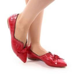 Sapato vermelho novo