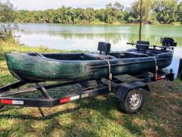 Barco em Fibra 4m x 1,5m